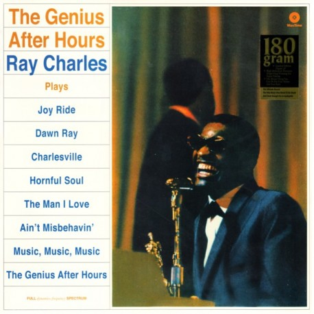 CHARLES, RAY - THE GENIUS AFTER HOURS (1 LP) - 180 GRAM PRESSING