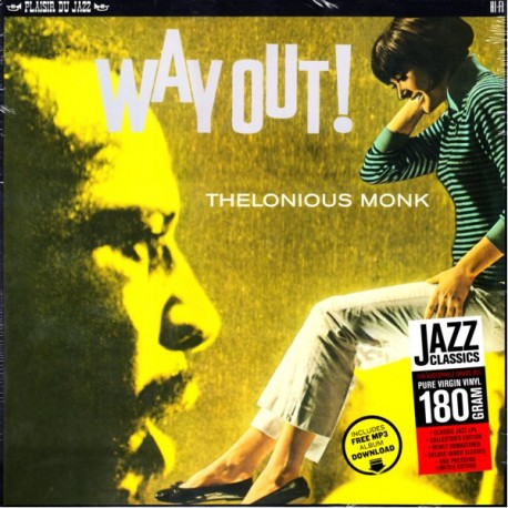 MONK, THELONIOUS - WAY OUT! (1 LP) - 180 GRAM PRESSING