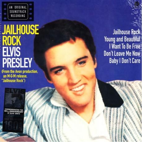 PRESLEY, ELVIS - JAILHOUSE ROCK (1 LP) - 180 GRAM PRESSING