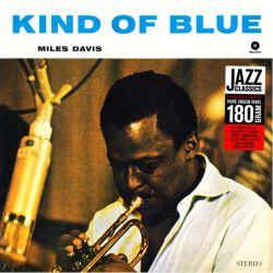 DAVIS, MILES - KIND OF BLUE (1 LP) - WAX TIME EDITION - 180 GRAM PRESSING