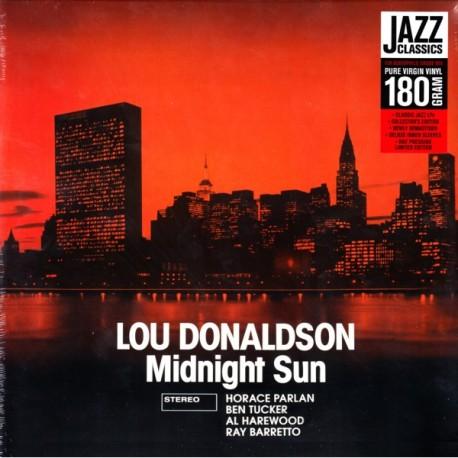 DONALDSON, LOU - MIDNIGHT SUN (1 LP) - 180 GRAM PRESSING