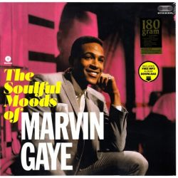 GAYE, MARVIN - THE SOULFUL MOODS OF MARVIN GAYE (1 LP) - 180 GRAM PRESSING
