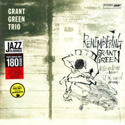 GREEN, GRANT TRIO - REMEMBERING  (1 LP) - 180 GRAM PRESSING