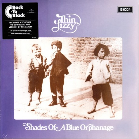 THIN LIZZY - SHADES OF A BLUE ORPHANAGE (1 LP +MP3 DOWNLOAD) - 180 GRAM PRESSING