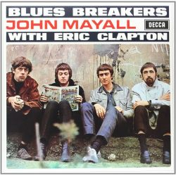 MAYALL, JOHN WITH ERIC CLAPTON - BLUESBREAKERS (1 LP) - 180 GRAM PRESSING