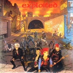 EXPLOITED, THE - TROOPS OF TOMORROW (2 LP)