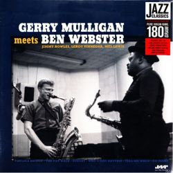 MULLIGAN, GERRY / WEBSTER, BEN - GERRY MULLIGAN MEETS BEN WEBSTER (1 LP) - JAZZ WAX EDITION - 180 GRAM PRESSING