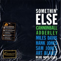 ADDERLEY, CANNONBALL - SOMETHIN' ELSE (2 LP) - 200 GRAM PRESSING - 45 RPM ANALOGUE PRODUCTIONS - WYDANIE AMERYKAŃSKIE