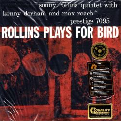 ROLLINS, SONNY - ROLLINS PLAYS FOR BIRD (1 LP) - 200 GRAM PRESSING - ANALOGUE PRODUCTIONS (MONO) - WYDANIE AMERYKAŃSKIE