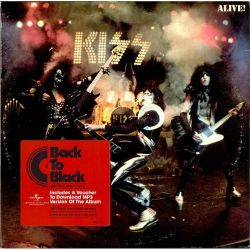 KISS - ALIVE! (2LP + MP3 DOWNLOAD) - 180 GRAM PRESSING