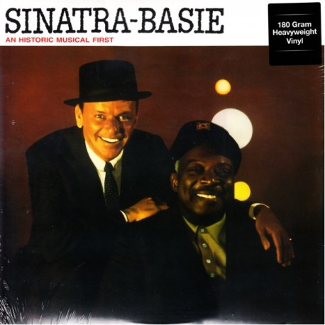 SINATRA, FRANK - COUNT BASIE - AN HISTORIC MUSICAL FIRST (1 LP) - DOL EDITION - 180 GRAM PRESSING