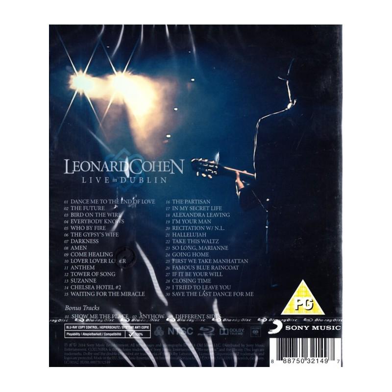 COHEN, LEONARD - LIVE IN DUBLIN (1 BLU-RAY) - najlepszamuzyka pl