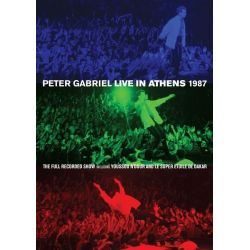 GABRIEL, PETER - LIVE IN ATHENS 1987 (2 DVD)
