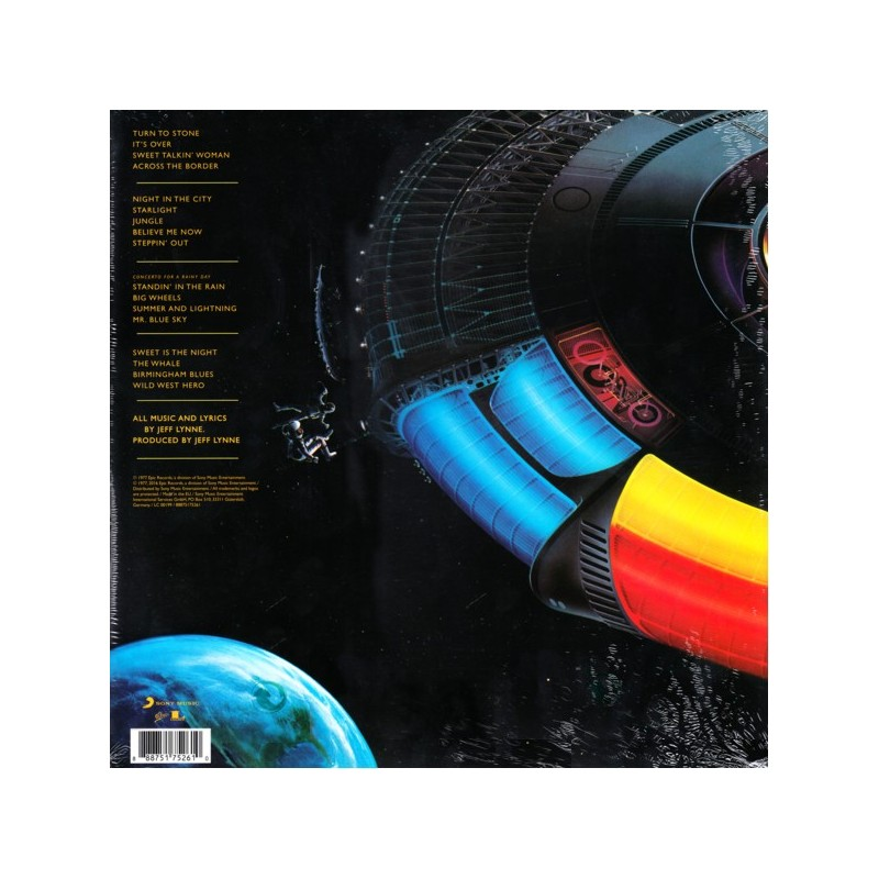 ELECTRIC LIGHT ORCHESTRA (ELO) - OUT OF THE BLUE (2 LP