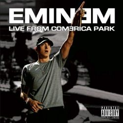 EMINEM - LIVE FROM COMERICA PARK (1LP) - LIMITED EDITION WHITE VINYL PRESSING