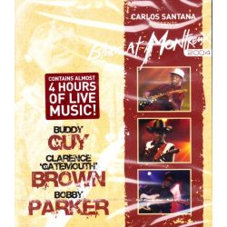 CARLOS SANTANA - CARLOS SANTANA PRESENTS BLUES AT MONTREUX 2004 (1 BLU-RAY)