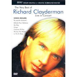 CLAYDERMAN, RICHARD - THE VERY BEST OF RICHARD CLAYDERMAN: LIVE IN CONCERT (1 DVD)