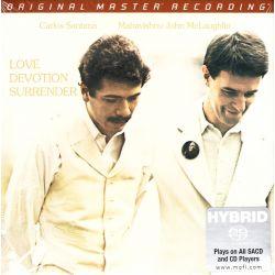 SANTANA, CARLOS / JOHN MCLAUGHLIN - LOVE DEVOTION SURRENDER (1 SACD) - LIMITED NUMBERED MFSL EDITION - WYDANIE AMERYKAŃSKIE