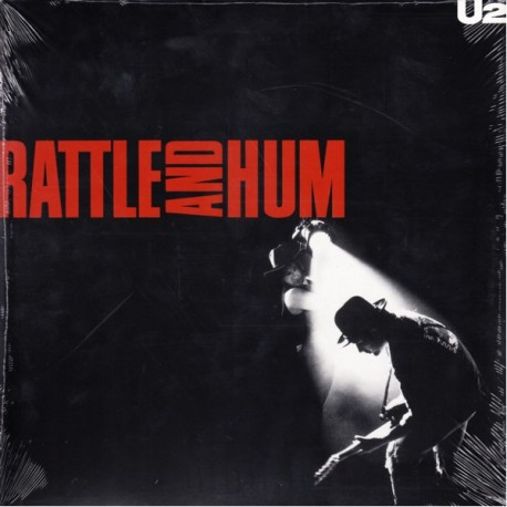 U2 - RATTLE AND HUM (2LP) - 180 GRAM PRESSING