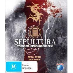 SEPULTURA & LES TAMBOURS DU BRONX - METAL VEINS: ALIVE AT ROCK IN RIO (1 BLU-RAY)