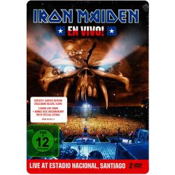 IRON MAIDEN - EN VIVO! (2 DVD) - STRICTLY LIMITED EDITION - STEELBOOOK DELUXE