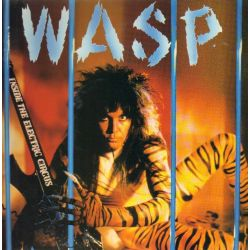 W.A.S.P. - INSIDE THE ELECTRIC CIRCUS (1 LP) - 180 GRAM PRESSING COLORED VINYL