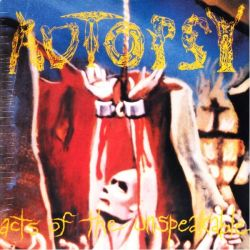 AUTOPSY - ACTS OF THE UNSPEAKABLE (1 LP) - 180 GRAM PRESSING - LIMITED