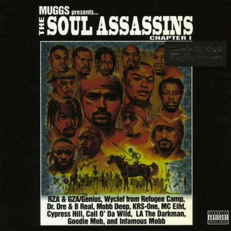 DJ MUGGS PRESENTS THE SOUL ASSASSINS - THE SOUL ASSASSINS (Chapter 1) (2 LP)