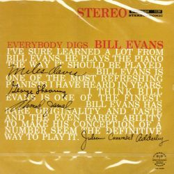 EVANS, BILL - EVERYBODY DIGS BILL EVANS (1 CD)