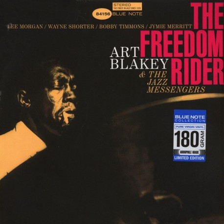 BLAKEY, ART & THE JAZZ MESSENGERS - THE FREEDOM RIDER (1 LP) - BLUE NOTE 180 GRAM PRESSING