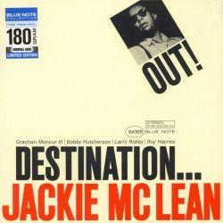 McLEAN, JACKIE - DESTINATION OUT (1 LP) - BLUE NOTE 180 GRAM PRESSING