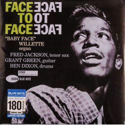 "WILLETTE, ""BABY FACE"" - FACE TO FACE (1 LP) - BLUE NOTE 180 GRAM PRESSING"
