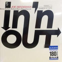 HENDERSON, JOE - IN 'N OUT (1 LP) - BLUE NOTE 180 GRAM PRESSING