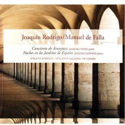 RODRIGO, JOAQUIN /DE FALLA, MANUEL - CONCIERTO DE ARANJUEZ / NOCHES EN LOS JARDINES DE ESPANA (1 LP)