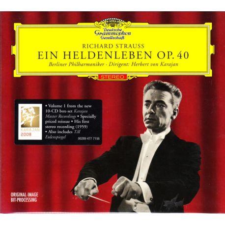 STRAUSS, RICHARD - EIN HELDENLEBEN OP. 40 - BERLINER PHILHARMONIKER DIRIGENT: HERBERT VON KARAJAN (1 CD)