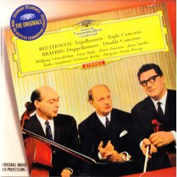 BEETHOVEN, LUDWIG VAN / BRAHMS, JOHANNES - TRIPLE CONCERTO / DOUBLE CONCERTO (1 CD)