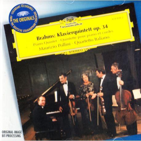 BRAHMS, JOHANNES - KLAVIERQUINTETT OP. 34 - MAURIZIO POLLINI, QUARTETTO ITALIANO (1 CD)