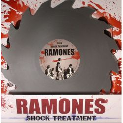RAMONES - SHOCK TREATMENT (1 LP) - LIMITED CIRCULAR SAW SHAPED GREY VINYL