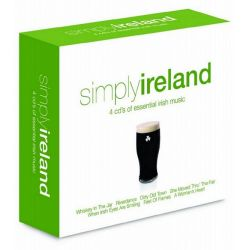 SIMPLY IRELAND - 4 CD\'S OF ESSENTIAL IRISH MUSIC (4CD)