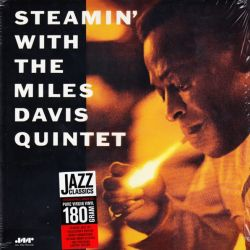 DAVIS, MILES QUINTET - STEAMIN\' WITH THE MILES DAVIS QUINTET(1LP) - 180GRAM PRESSING