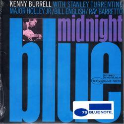 BURRELL, KENNY - MIDNIGHT BLUE (1 LP) - BLUE NOTE EDITION - WYDANIE AMERYKAŃSKIE
