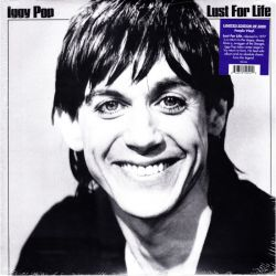 POP, IGGY - LUST FOR LIFE (1 LP) - LIMITED 2000 COPIES PURPLE VINYL - 180 GRAM PRESSING - WYDANIE AMERYKAŃSKIE