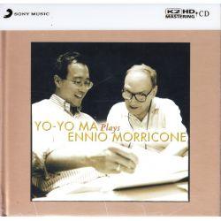 MA, YO-YO & ENNIO MORRICONE - YO-YO MA PLAYS ENNIO MORRICONE (1 K2 HD CD) - WYDANIE JAPOŃSKIE