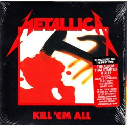 METALLICA - KILL 'EM ALL (1 CD) - 2016 REMASTER - WYDANIE AMERYKAŃSKIE