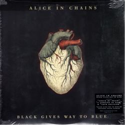 ALICE IN CHAINS - BLACK GIVES WAY TO BLUE (2 LP + CD) - CLEAR VINYL - WYDANIE AMERYKAŃSKIE