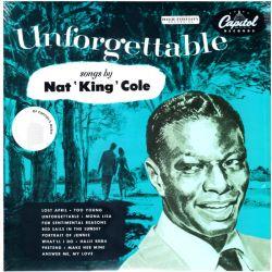 """COLE, NAT """"KING"""" - UNFORGETTABLE - WYDANIE AMERYKAŃSKIE"""