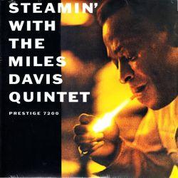 DAVIS, MILES QUINTET - STEAMIN' WITH THE MILES DAVIS QUINTET (1 LP) - OJC EDITION - MONO - WYDANIE AMERYKAŃSKIE