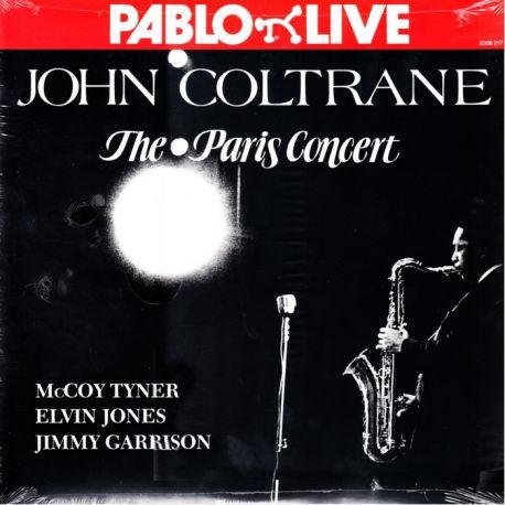 COLTRANE, JOHN - THE PARIS CONCERT (1 LP) - OJC EDITION - WYDANIE AMERYKAŃSKIE
