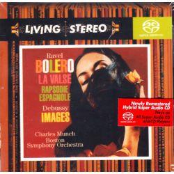 RAVEL/DEBUSSY - BOLERO/LA VALSE/RAPSODIE ESPAGNOLE/IMAGES - CHARLES MUNCH (1 SACD) - WYDANIE AMERYKAŃSKIE