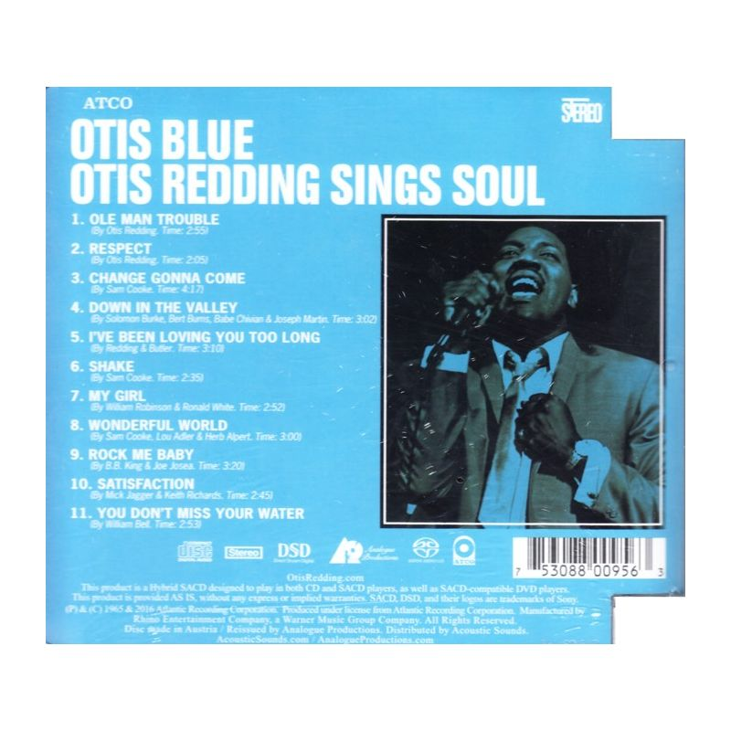 Otis Redding Satisfaction - Respect